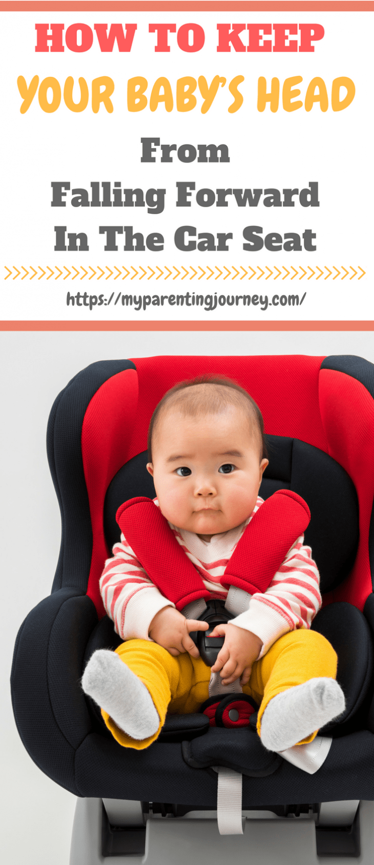 It can be scary to look in your rear-view mirror and see your tiny little baby's head slumped forward. Especially when the nurses and doctors at the hospital have drilled into your head the importance of keeping her neck straight and head supported. Read on as I explain how to keep your baby's head from falling forward in a car seat and how to ensure her safety.