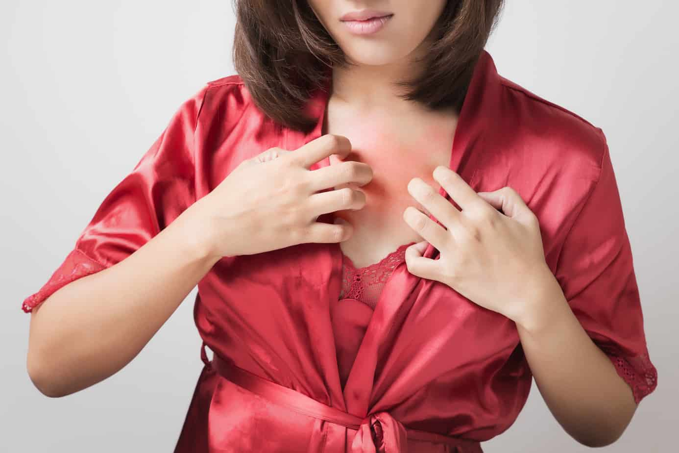 Pregnancy Rashes On Chest